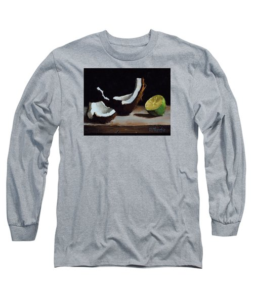Coconut And Lime Long Sleeve T-Shirt