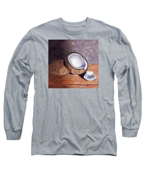 Coconut Anyone? Long Sleeve T-Shirt