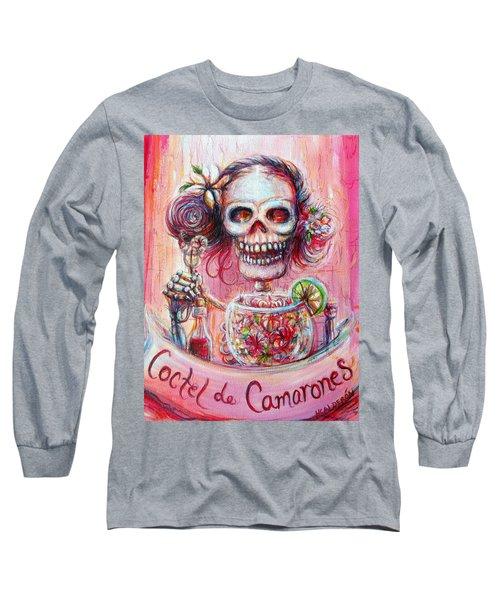 Coctel De Camarones Long Sleeve T-Shirt