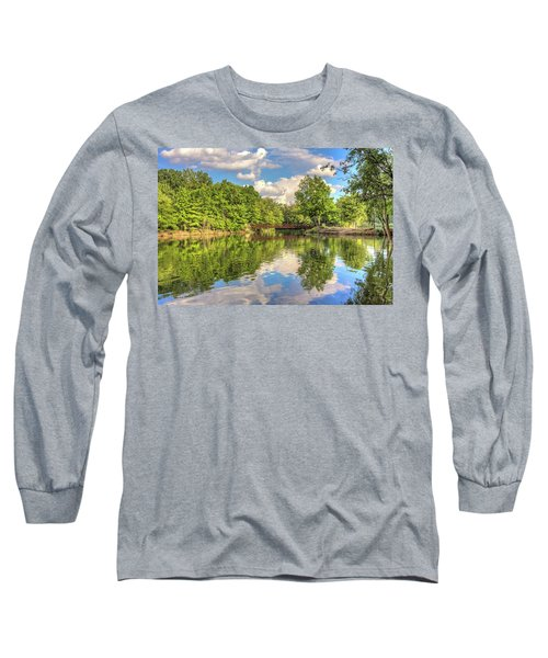 Long Sleeve T-Shirt featuring the photograph Coe Lake by Brent Durken
