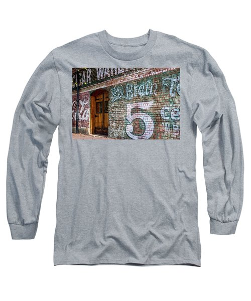 Coke And 5 Cent Cigars Long Sleeve T-Shirt