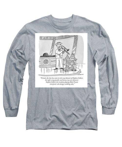 Colbert Retirement Long Sleeve T-Shirt
