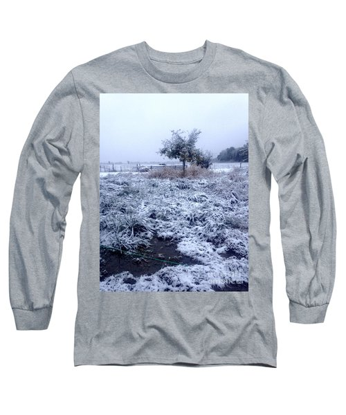 Cold Blue Long Sleeve T-Shirt
