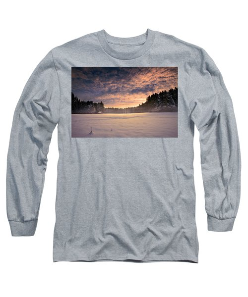 Cold Morning Long Sleeve T-Shirt