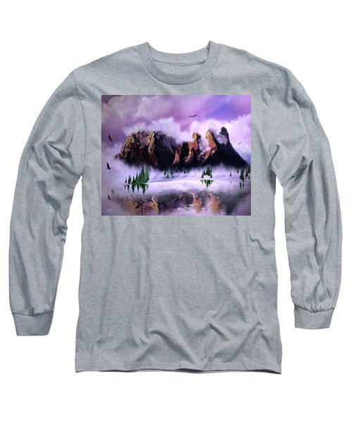 Cold Mountain Morning Long Sleeve T-Shirt