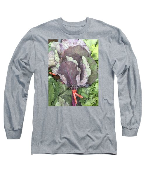 Collard Greens Portland Farmers Market 2015 Long Sleeve T-Shirt