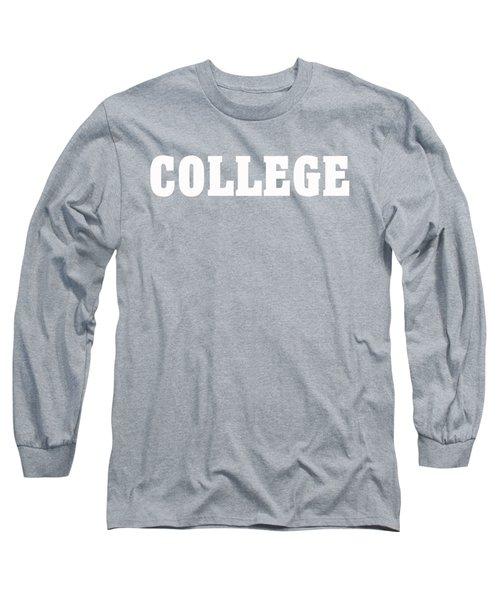 College Tee Long Sleeve T-Shirt