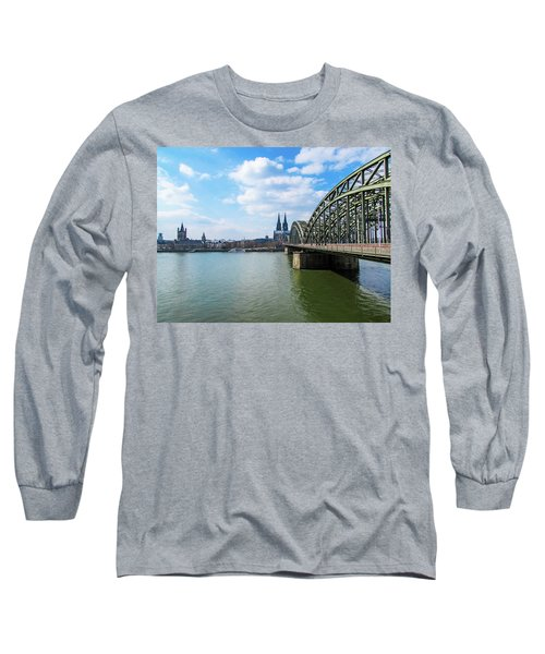 Cologne Long Sleeve T-Shirt by Cesar Vieira