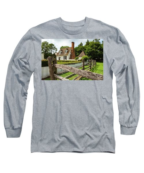 Colonial America House Long Sleeve T-Shirt