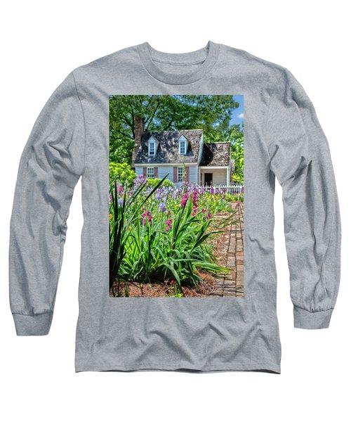Colonial Garden1 Long Sleeve T-Shirt