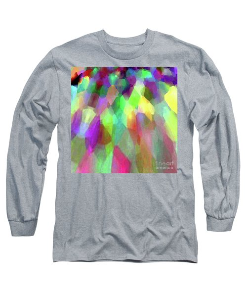 Color Abstract Long Sleeve T-Shirt