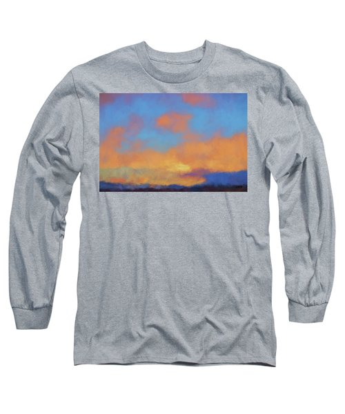 Color Abstraction Lvii Long Sleeve T-Shirt