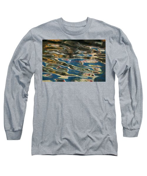 Long Sleeve T-Shirt featuring the photograph Color Abstraction Lxxv by David Gordon