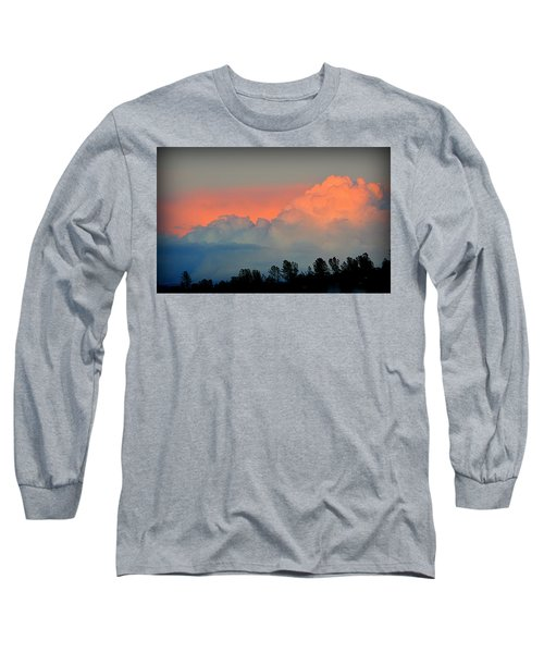 Long Sleeve T-Shirt featuring the photograph Color Burst by AJ Schibig