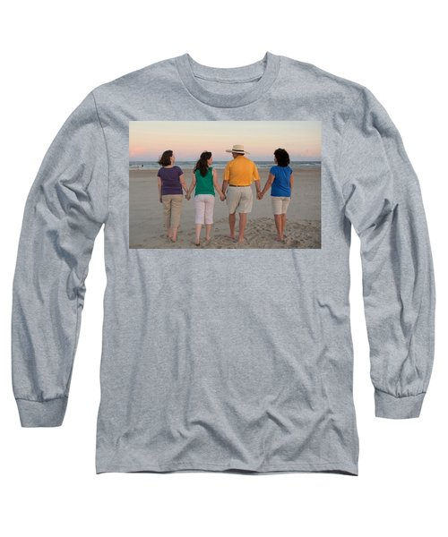 Color Enhanced Long Sleeve T-Shirt