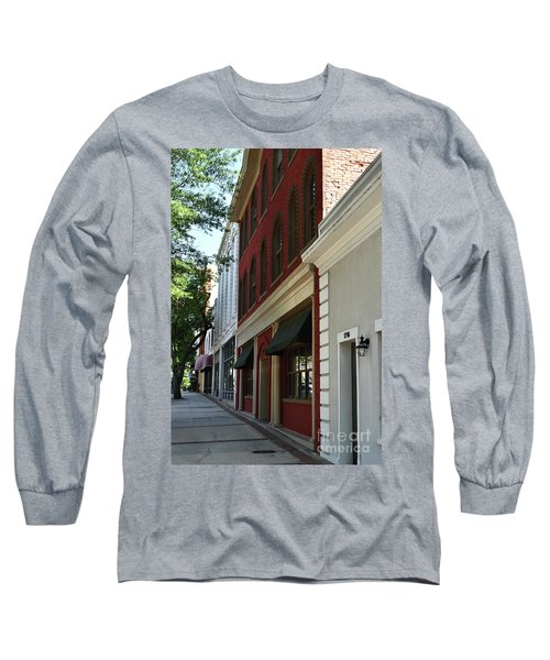 Long Sleeve T-Shirt featuring the photograph Color Me Main St Usa by Skip Willits