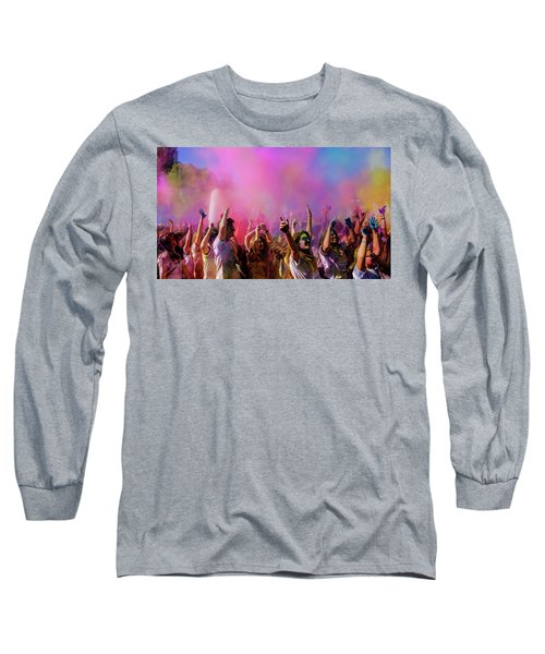 Color Sky Long Sleeve T-Shirt