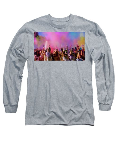 Color Sky Long Sleeve T-Shirt