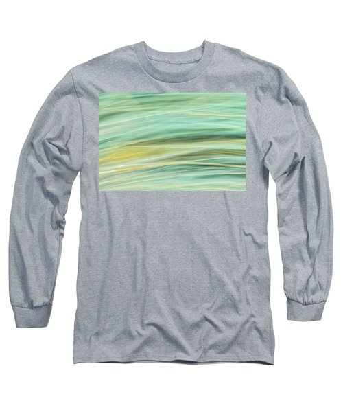 Color Swipe Long Sleeve T-Shirt