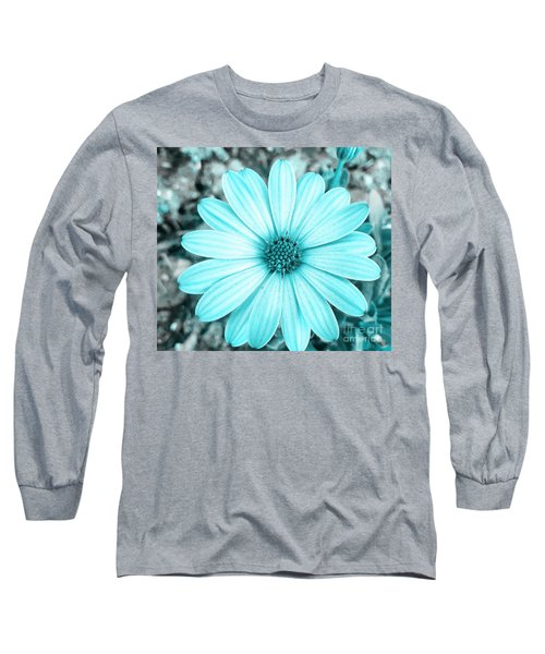 Color Trend Blue Blossom Long Sleeve T-Shirt