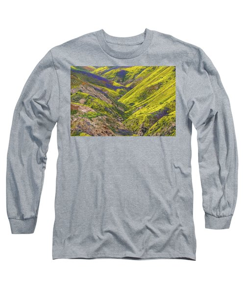 Long Sleeve T-Shirt featuring the photograph Color Valley by Peter Tellone