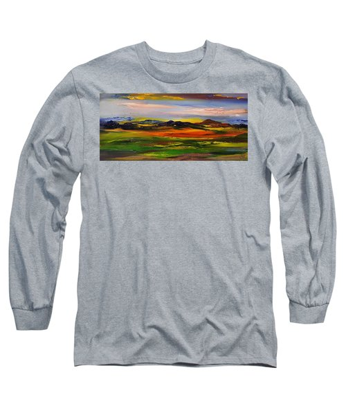 Color Your World    #58 Long Sleeve T-Shirt