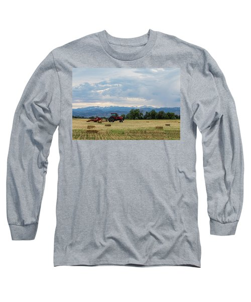 Long Sleeve T-Shirt featuring the photograph Colorado Country by James BO Insogna