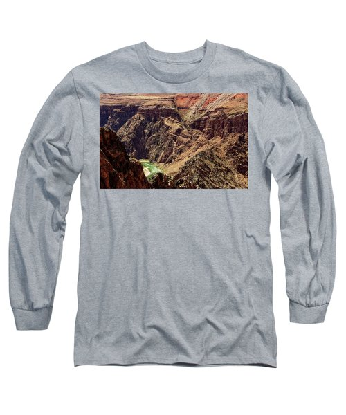 Colorado River From The South Kaibab Trail Long Sleeve T-Shirt