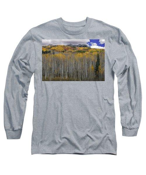 Colorado Splendor Long Sleeve T-Shirt by Gary Lengyel