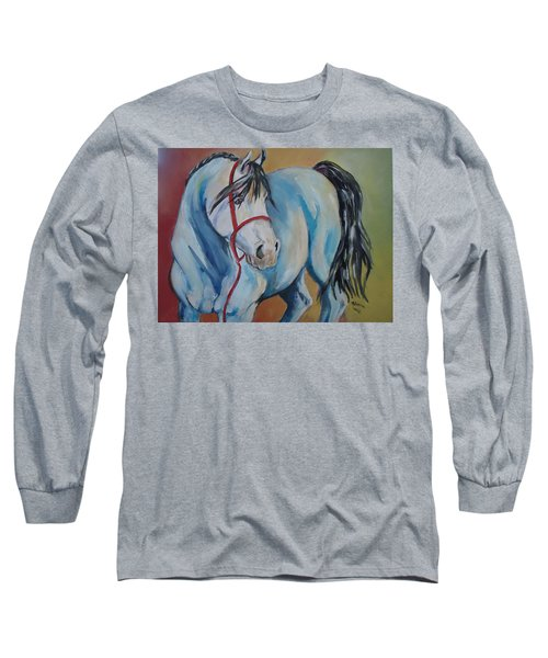 Colored Pony Long Sleeve T-Shirt