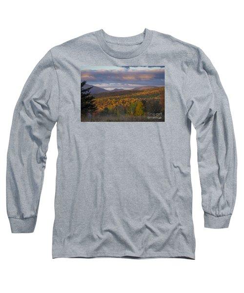 Colorful Autumn Long Sleeve T-Shirt by Alana Ranney