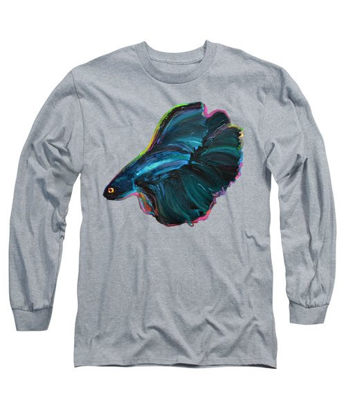 Colorful Betta Long Sleeve T-Shirt