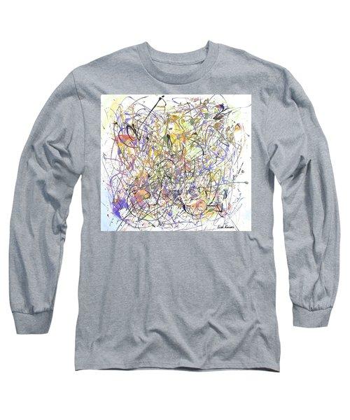 Colorful Blog Long Sleeve T-Shirt by Lisa Kaiser