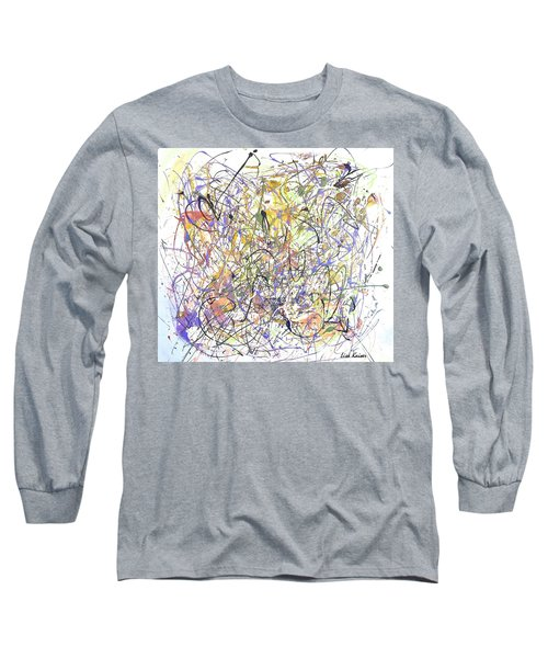 Colorful Blog Long Sleeve T-Shirt