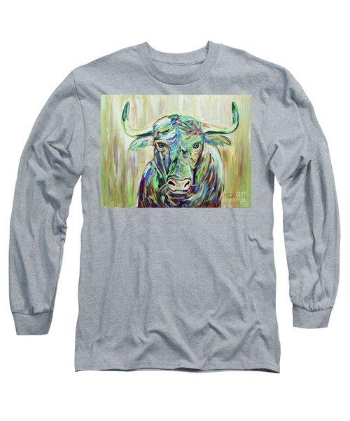 Colorful Bull Long Sleeve T-Shirt