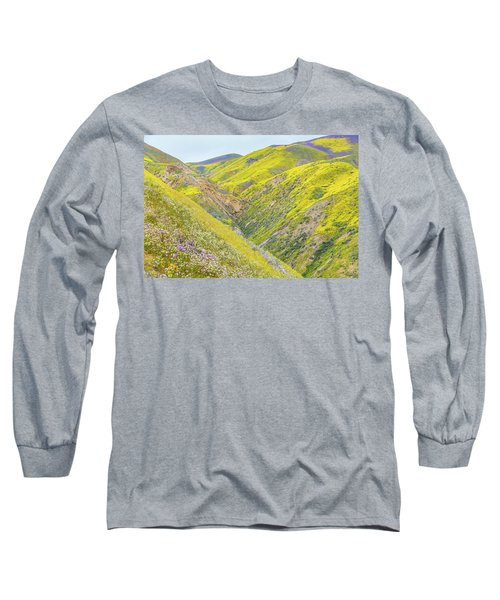 Long Sleeve T-Shirt featuring the photograph Colorful Canyon by Marc Crumpler