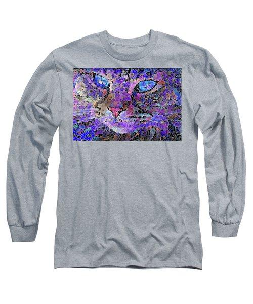 Flower Cat 2 Long Sleeve T-Shirt