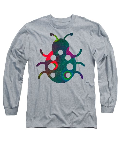 Colorful Crawling Critter Long Sleeve T-Shirt