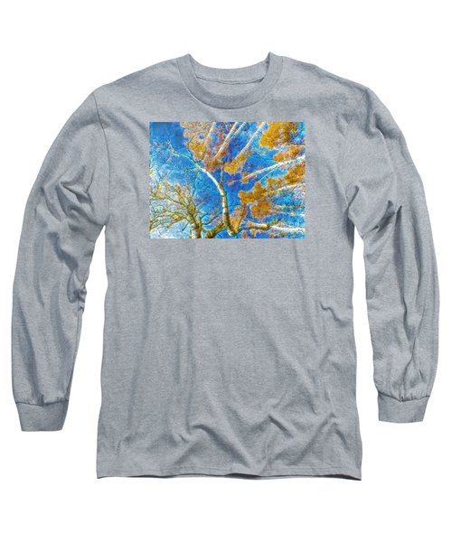 Colorful Mystical Forest Long Sleeve T-Shirt by Odon Czintos