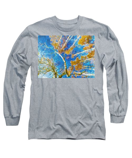 Colorful Mystical Forest Long Sleeve T-Shirt