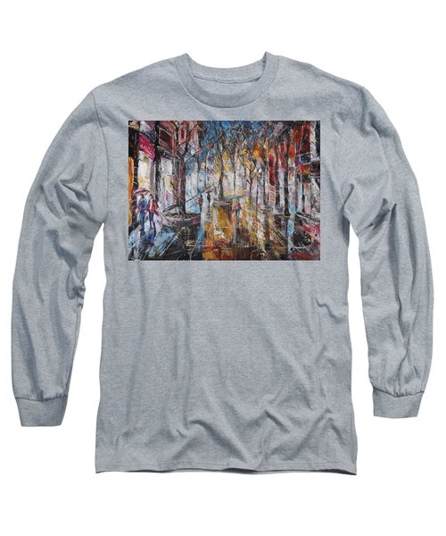Colorful Night V Long Sleeve T-Shirt