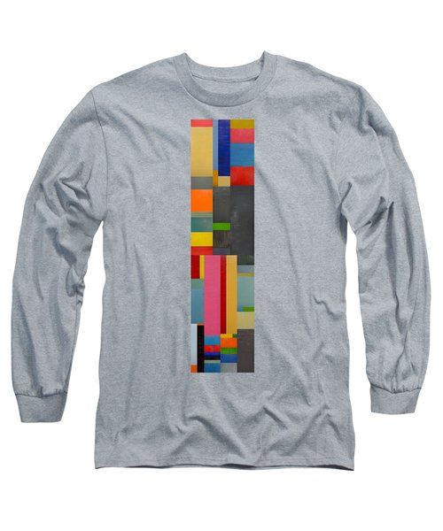 Colorful Skinny Collage 1.0 Long Sleeve T-Shirt