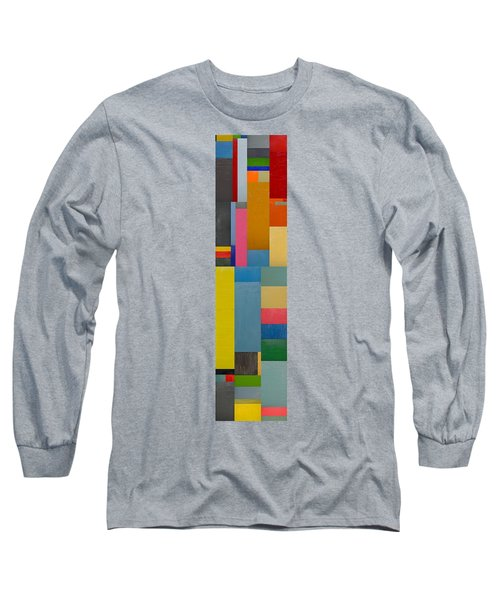 Colorful Skinny Collage 2.0 Long Sleeve T-Shirt