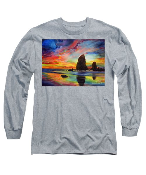 Colorful Solitude Long Sleeve T-Shirt
