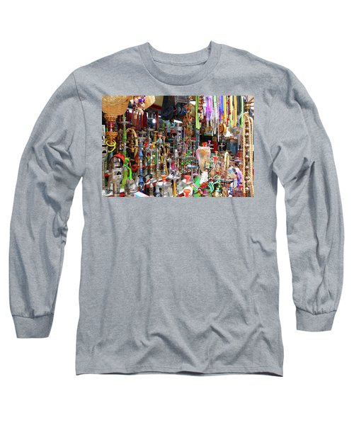Colorful Space Long Sleeve T-Shirt by Arik Baltinester