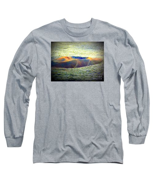 Colorful Volcanic Ash Long Sleeve T-Shirt by John Potts