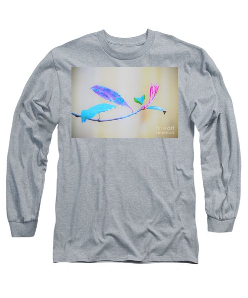 Colorfully Designed Long Sleeve T-Shirt