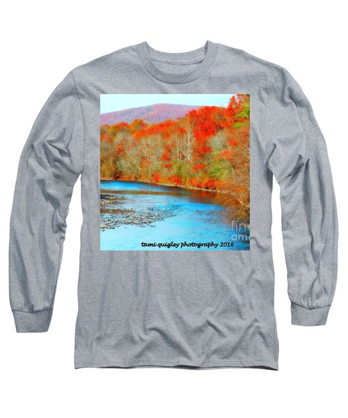 Coloring The Kittatiny Long Sleeve T-Shirt