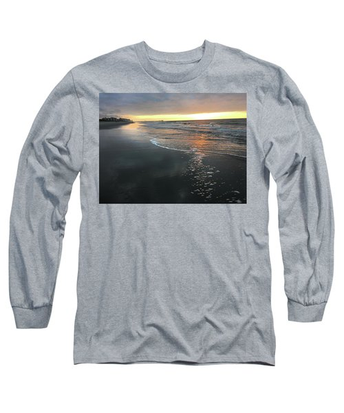 Colors Of A Storm At Sunrise Long Sleeve T-Shirt by Kelly Hazel