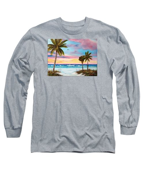 Colors Of Siesta Key Long Sleeve T-Shirt